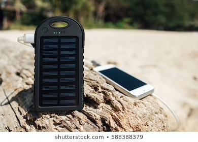 ソーラーチャージャーで充電する