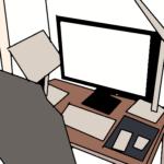 在宅勤務おすすめの部屋のレイアウト【1kでもできる!】