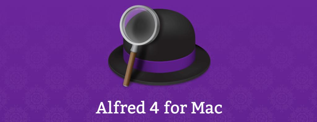 MacBook Proおすすめアプリその②:Alfred 4(無料・有料)