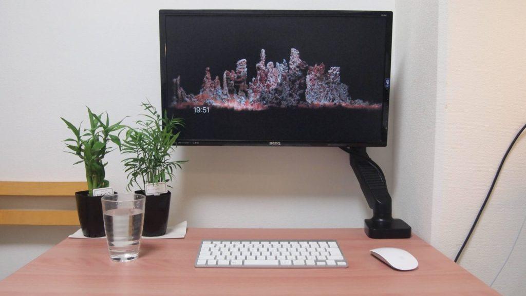 HUANUO PC モニター アームの良いところ